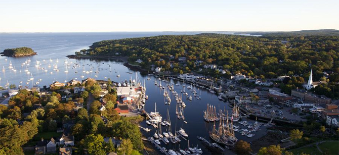 Take the amtrak downeaster to camden maine