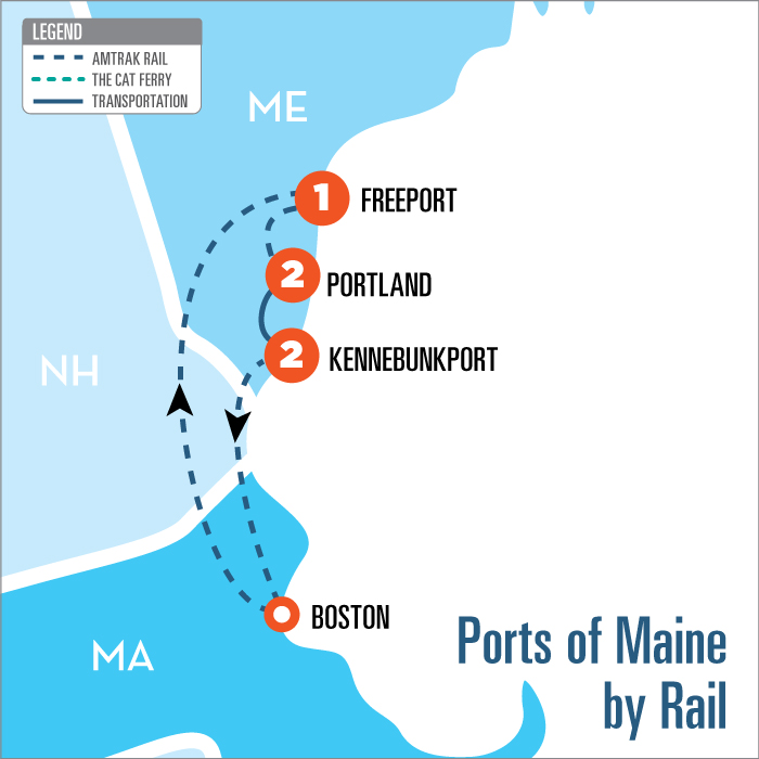 Maine Coast Tour From Portland To Kennebunkport