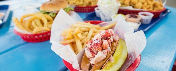 Bob's Clam Hut Lobster Roll