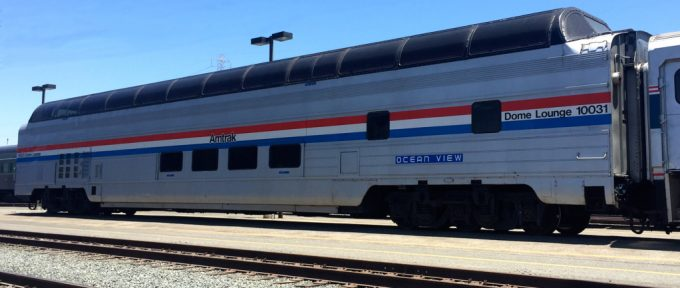 Amtrak Great Dome Car
