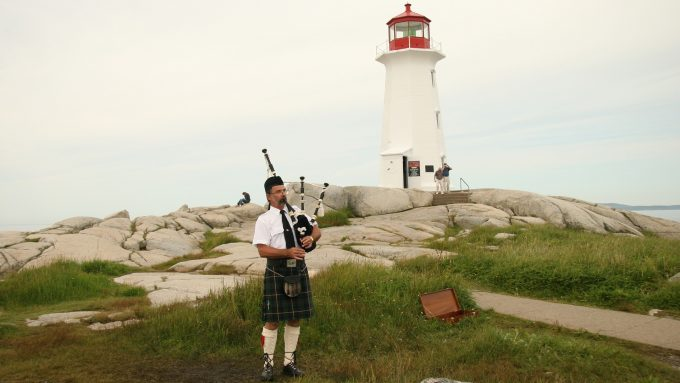 Peggy's Cove Lighthouse Piper